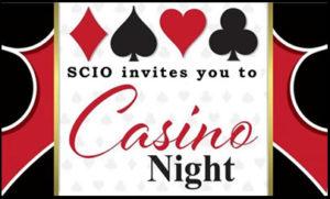 SCIO invites you to Casino Night
