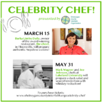 Celebrity Chef - March 15 & May 31, 2020